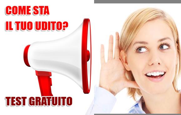 Controllo audiometrico